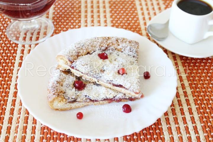 Вкусный и быстрый пирог к чаю в духовке