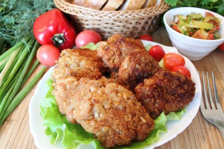 Отбивные из свинины на сковороде сочные вкусные и нежные