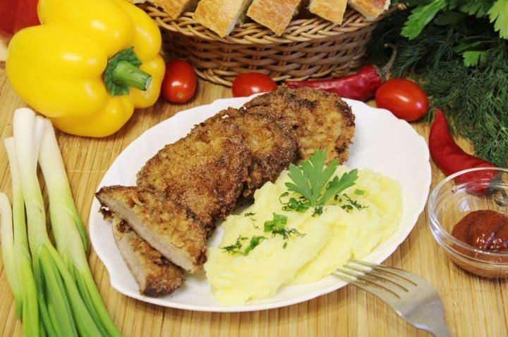 Отбивные из говядины на сковороде сочные мягкие и вкусные