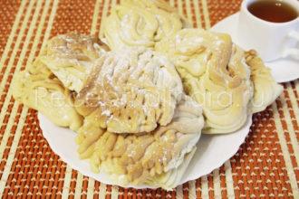 Печенье «Хризантема» через мясорубку с маргарином как в детстве в домашних условиях