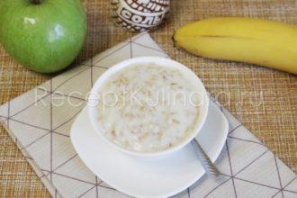 Как сварить овсяную кашу на молоке с сахаром в кастрюле на плите для ребенка
