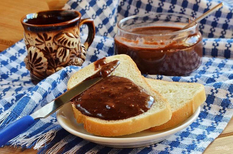 Шоколадная паста с бататом