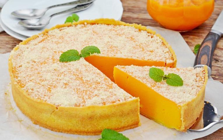 Тыквенно-апельсиновый пирог
