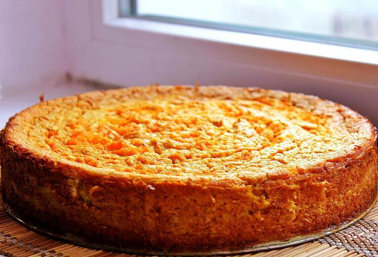 Тыквенный пирог без сахара