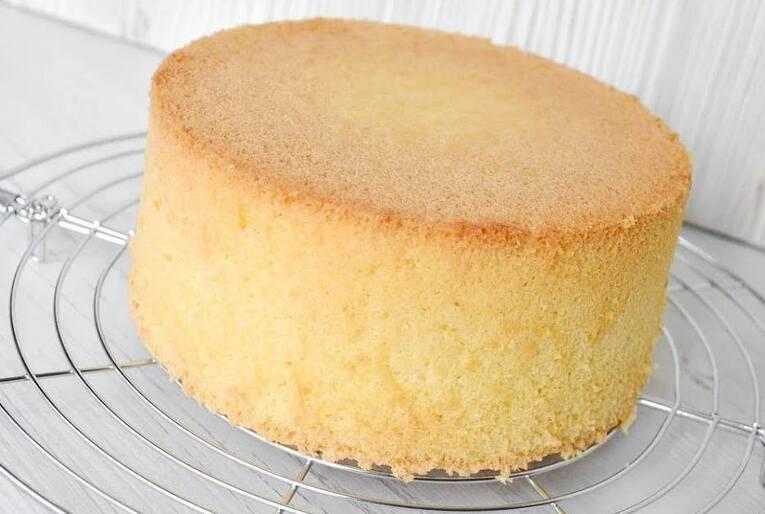 Бисквит для торта «Классический с крахмалом»