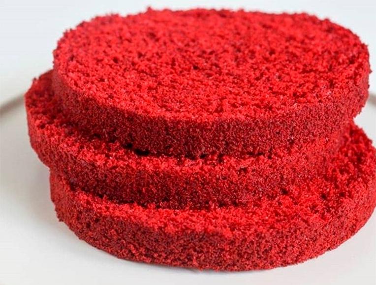 Бисквит для торта «Красный бархат»