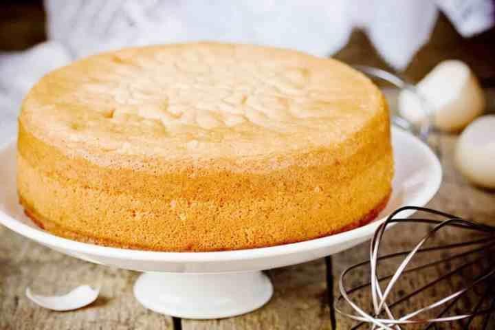 Бисквит для торта пышный и простой