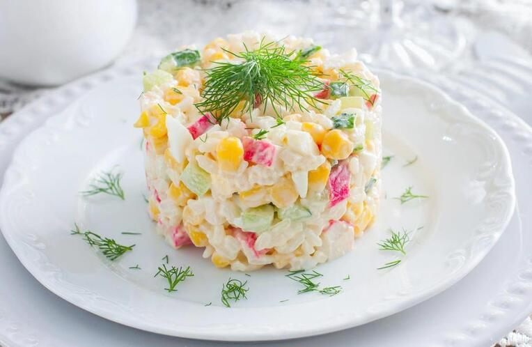 Классический салат «Крабовый»