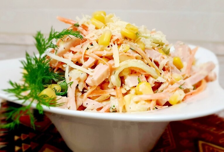Острый салат «Венецианский»