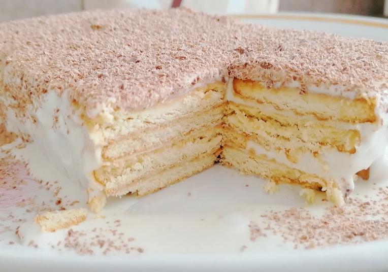 Рецепт сочного и нежного торта «Творог в домике»