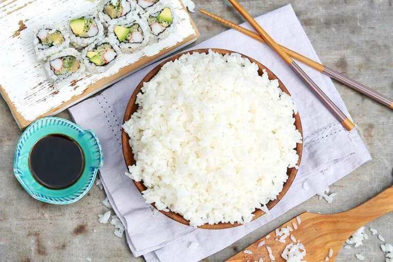 Рис с соусом «Наршараб»