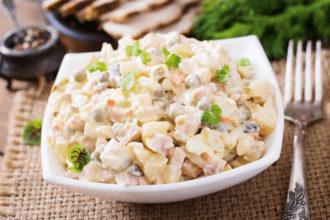 Салат Оливье классический самые вкусные и простые рецепты