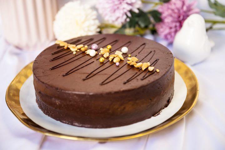 Шоколадная глазурь для торта из какао