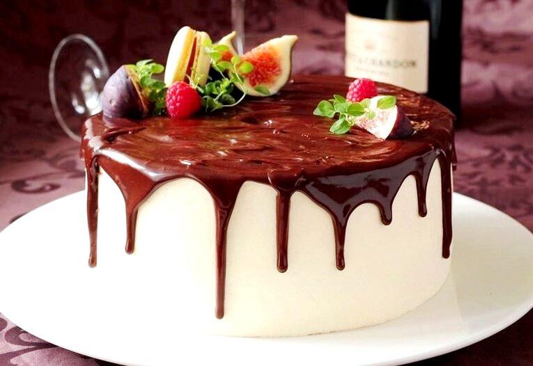 Шоколадная глазурь для торта «Классическая»