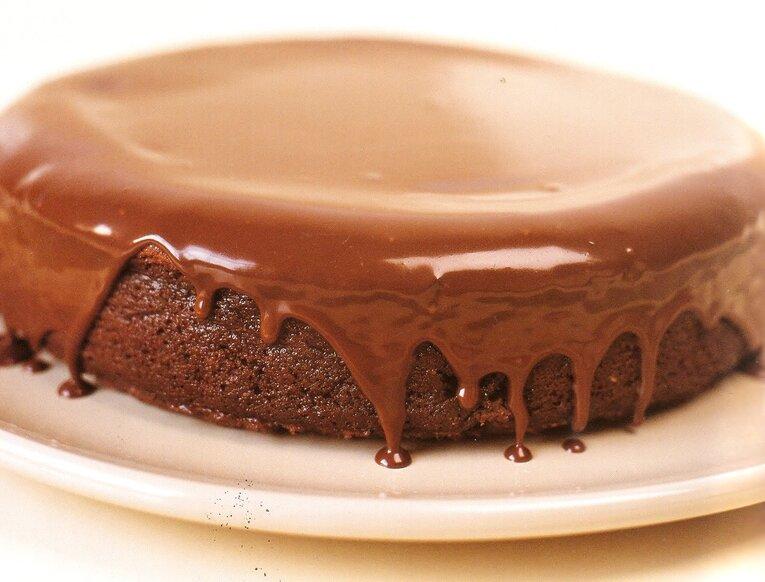 Шоколадная глазурь для торта «Нежная»