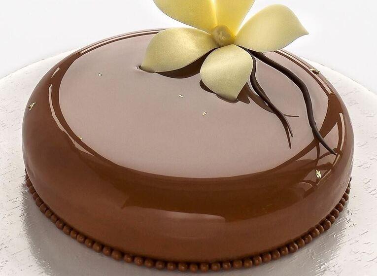 Шоколадная глазурь для торта «Зеркальная»