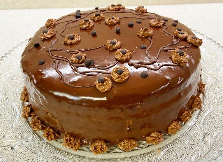 Шоколадный торт «Молочный»
