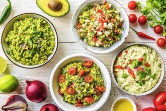 Соус гуакамоле классический из авокадо