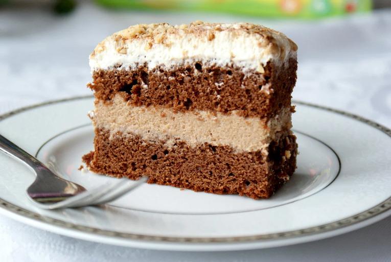 Торт ПП – Шоколадно-творожный