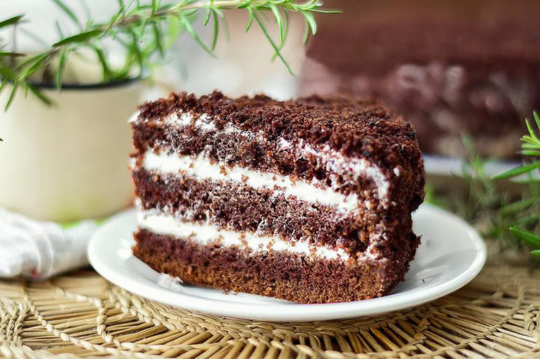 Торт «Шоколадно-сметанный»