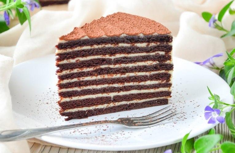 Торт «Шоколадный медовик»