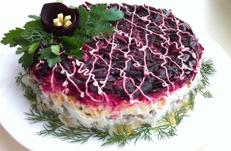 Знаменитый салат «Шуба», но по-новому
