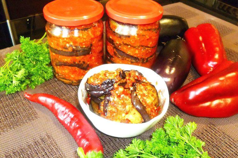 Баклажаны на зиму – простой рецепт