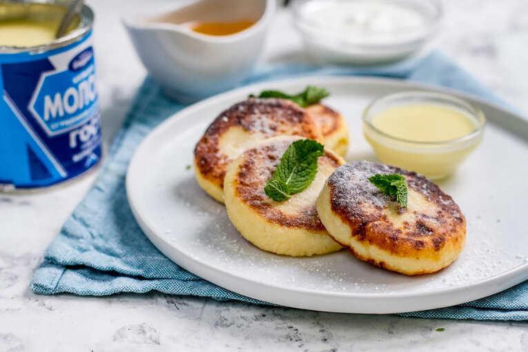 Сырники с джемом или сгущенкой