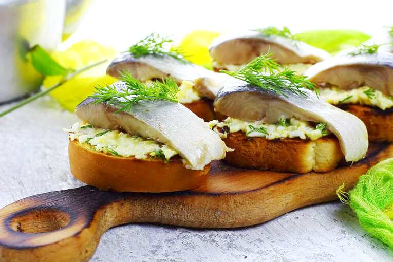 Закуска рыбная «Советская»